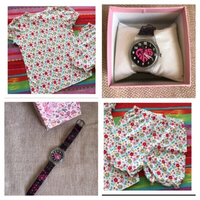 Used Mothercare Top+Shorts & watch free in Dubai, UAE