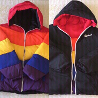 Used Unisex reversible padded jacket (size M) in Dubai, UAE