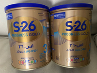 Used 2pcs S-26 PROGRESS MILK (1-3 years old ) in Dubai, UAE