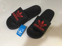 Used Adidas slippers size 44, new  in Dubai, UAE