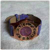 Purple Marc Jacobs watch..