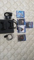 Used 1TB PS 4 + 2 controllers+ 5 games in Dubai, UAE