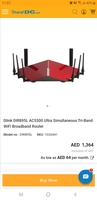 Used Dlink DIR895L AC5300 router in Dubai, UAE