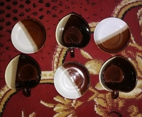 Used Soup Cups and saucer new.. $ in Dubai, UAE