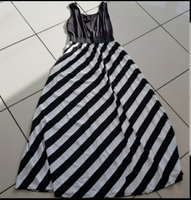 Used L size lycra dress brand new never used in Dubai, UAE