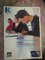 Used ACCA Accounting Books in Dubai, UAE