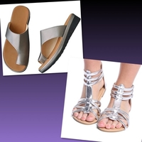Used 2 Sandals  in Dubai, UAE