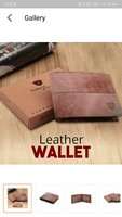 Used High quality Vintage leather wallet in Dubai, UAE