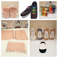 Used Anti slip socks& shoes laces& chafing ba in Dubai, UAE