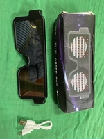 Used Led luminescent glasses red light  in Dubai, UAE