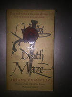 Used The death maze// book  in Dubai, UAE
