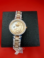 Womens 3D Leopard Diamond watch