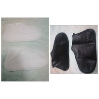 Used 2 pcs of Rainproof Shoe Covers in Dubai, UAE