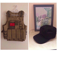 Used NEW Vest MEDIUM + Cap 💥 in Dubai, UAE