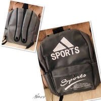 Used Backpack Gray M/L size💙 in Dubai, UAE