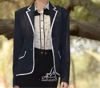 Jacket and blouse high end