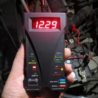 MOTOPOWER MP0514A 12V Digital Car Batter