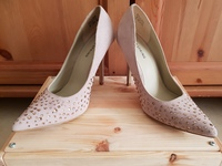 Used Call It Spring Nude Studded Party Heels in Dubai, UAE
