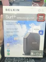 Used Belkin surf+ wireless router in Dubai, UAE