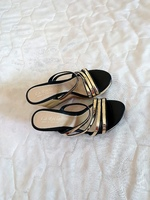Used Brand new  Ladies wedges Shoes - 2 pcs in Dubai, UAE