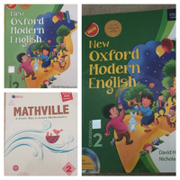 Grade -2 books. Maths and english