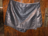 Used Leather shorts from Top shop small  in Dubai, UAE