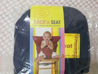 Portable safety seat harness blue x1