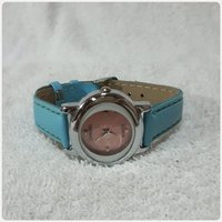 Channel watch blue color for Girl