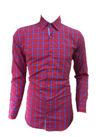 Used Red checks Shirt - Size Medium in Dubai, UAE