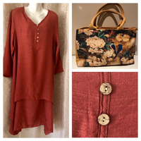 BUNDLE blouse/dress UK 12+bag