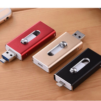 3 in 1 256 GB flash drive - 1 pc