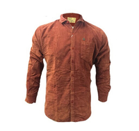 Used Brown corduroy shirt - Size Medium  in Dubai, UAE