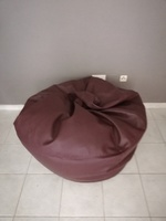 Used New leather bean bag in Dubai, UAE