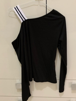 Used Strip Contrast One Shoulder Top SHEIN in Dubai, UAE