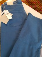 Used Pants-LACOSTE Blue in Dubai, UAE