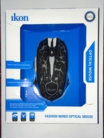 Used Ikon fashion wired optical mouse in Dubai, UAE