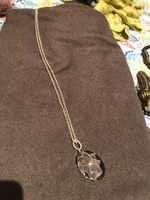 Used Necklace with Swarovski crystal pendant  in Dubai, UAE