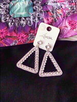 Used New Lovisa crystal earings accessories💎 in Dubai, UAE