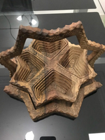 Used Original walnut wood dry fruit Basket  in Dubai, UAE