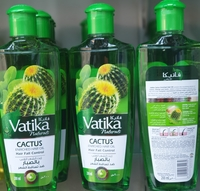 Used Vatika naturals cactus enriched hair oil in Dubai, UAE