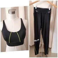 Used Size S SQUAT WOLF workout bra & leggings in Dubai, UAE