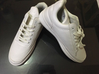 Used Spanning formal shoes size 43,white in Dubai, UAE