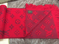 Used LOUIS VUITTON AUTHENTIC red shawl in Dubai, UAE