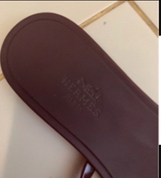 Used Rubber flats by Hermes in Dubai, UAE