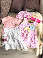 Used New frocks,romper & charmz from babyshop in Dubai, UAE