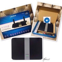 Used Linksys EA6350 _AC1200+ Wifi Router 💙 in Dubai, UAE