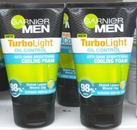 Garnier men turbo light cooling foam