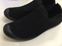 Used canvas shoes black  in Dubai, UAE
