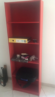 Used Ikea red book shelves  in Dubai, UAE