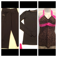 Sport items Pant/tops Size S/M